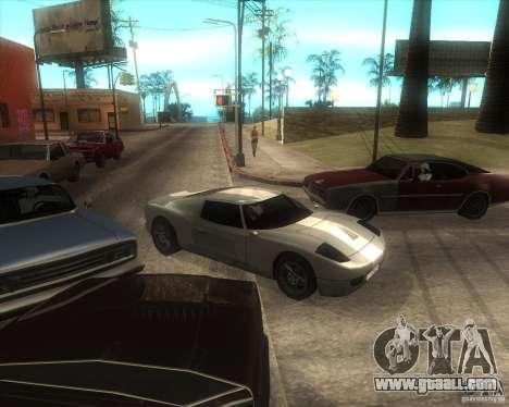 MOD from Jyrki for GTA San Andreas