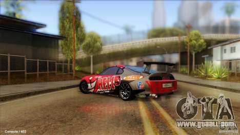 Toyota Supra HELL for GTA San Andreas left view