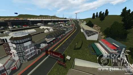 SPA Francorchamps [Beta] for GTA 4 third screenshot