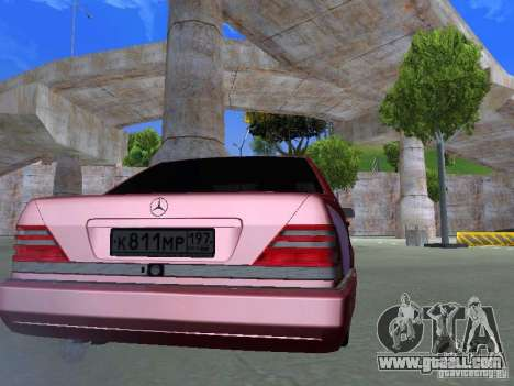 Mercedes-Benz S600 W140 v 2.0 for GTA San Andreas right view