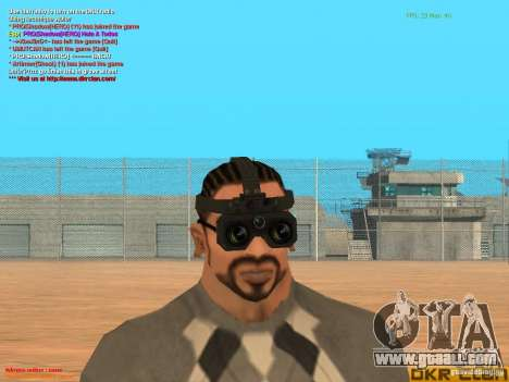 Thermal Goggles for GTA San Andreas