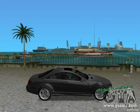 Mercedess Benz CL 65 AMG for GTA Vice City right view
