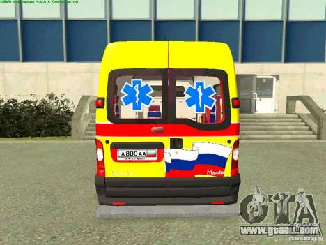 Renault Master Quick Samara for GTA San Andreas back left view