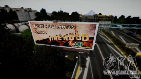 Realistic Airport Billboard for GTA 4 sixth screenshot