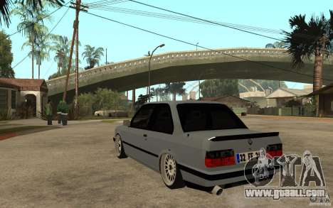 BMW E30 CebeL Tuning for GTA San Andreas back left view