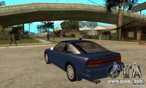 Nissan 240sx - Stock for GTA San Andreas back left view