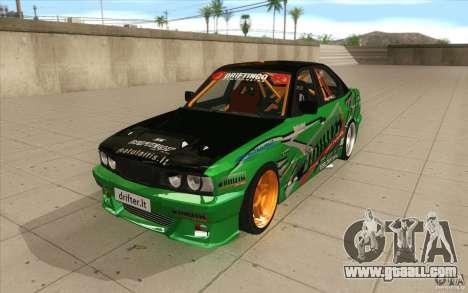 BMW E34 V8 Wide Body for GTA San Andreas