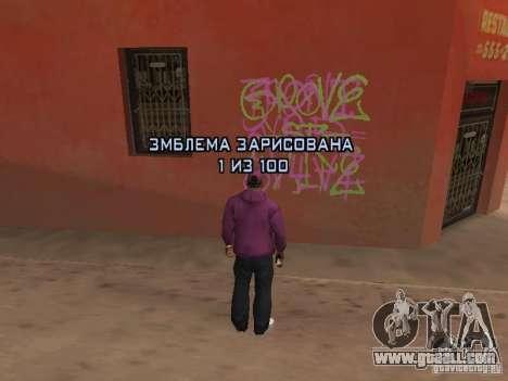 Ballas 4 Life for GTA San Andreas eighth screenshot