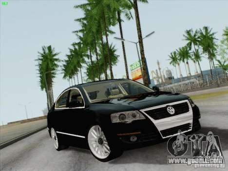 Volkswagen Magotan 2011 for GTA San Andreas back view