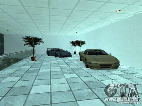 More cars at the motor show in Dougherty for GTA San Andreas fifth screenshot
