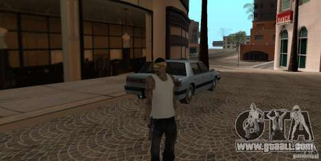 Skin Pack Vagos for GTA San Andreas second screenshot