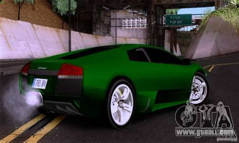 Lamborghini Murcielago LP640 for GTA San Andreas left view
