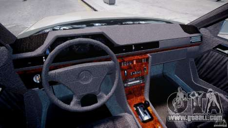 Mercedes-Benz W124 E500 1995 for GTA 4 right view