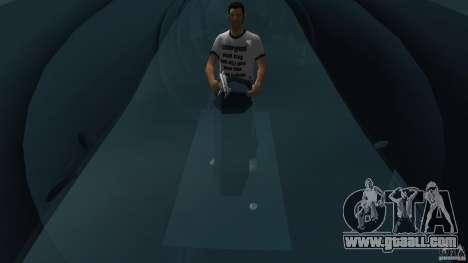 Seehund Midget Submarine skin 2 for GTA Vice City back view
