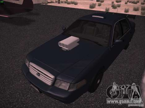 Ford Crown Victoria 2003 for GTA San Andreas side view