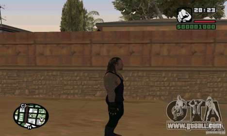 The undertaker from Smackdown 2 for GTA San Andreas seventh screenshot