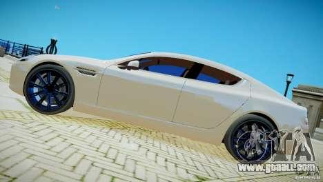 Aston Martin Rapide for GTA 4 back left view