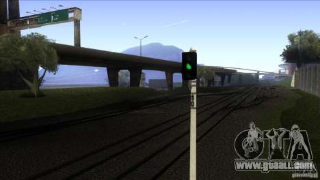 A new algorithm of train 5 for GTA San Andreas third screenshot