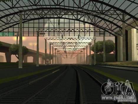 Contact network for GTA San Andreas forth screenshot