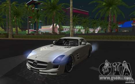 Mercedes Benz SLS HAMANN for GTA San Andreas left view