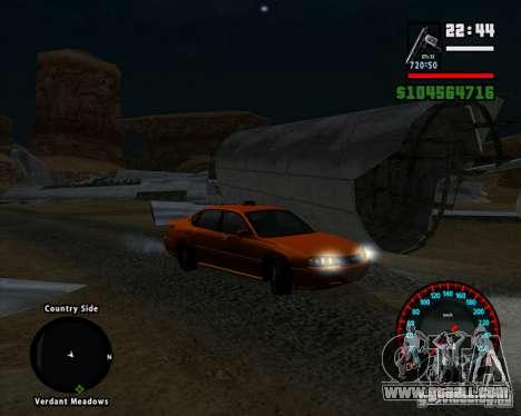 New BMW speedometer for GTA San Andreas third screenshot