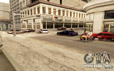 A new algorithm for car traffic for GTA San Andreas second screenshot