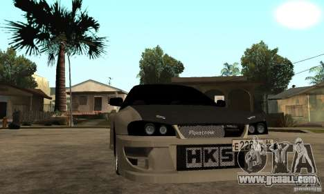 Subaru Impreza 22B STI Tuning for GTA San Andreas back view