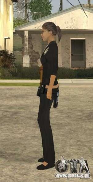 DD girl skin for GTA San Andreas forth screenshot
