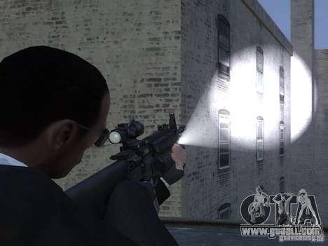 Flashlight 4 Weapons v1.0 for GTA 4