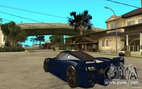 Ferrari FXX 2005 for GTA San Andreas right view