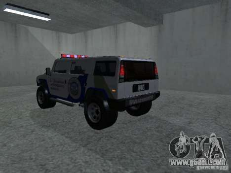 NOOSE Patriot from GTA 4 for GTA San Andreas left view