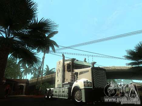 Kenworth T908 for GTA San Andreas side view
