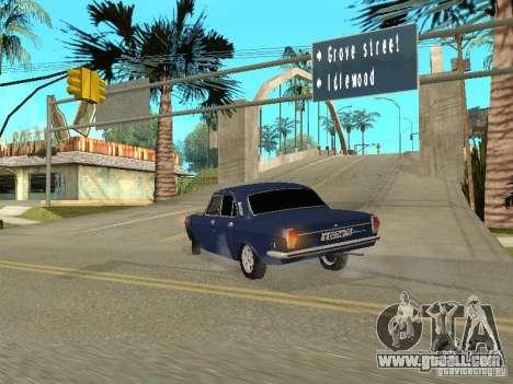 GAZ 24-10 for GTA San Andreas back view