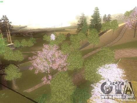 Spring Season v2 for GTA San Andreas third screenshot