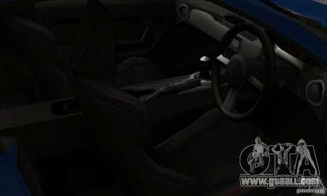 Subaru BRZ JDM for GTA San Andreas back view