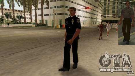 New clothes cops version 2 for GTA Vice City