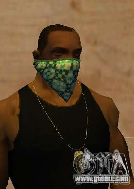 New Bandanas Style for GTA San Andreas third screenshot