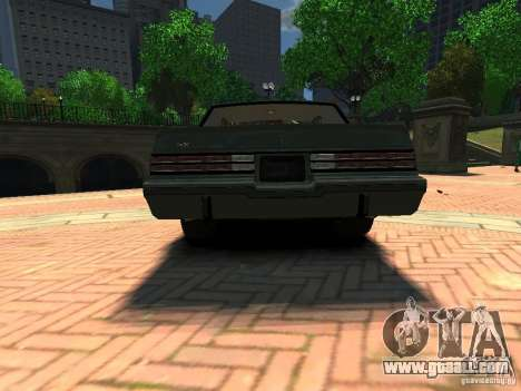 Buick Regal GNX for GTA 4 back left view