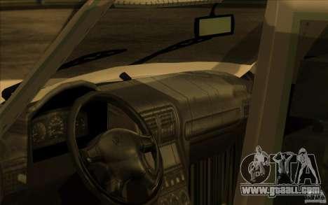 GAZ Volga 311021 for GTA San Andreas back view