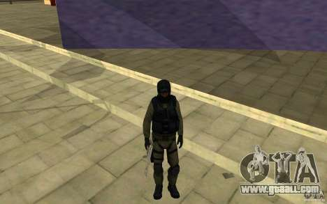 CJ-special forces for GTA San Andreas