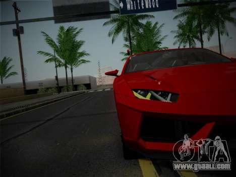 Lamborghini Estoque Concept 2008 for GTA San Andreas side view