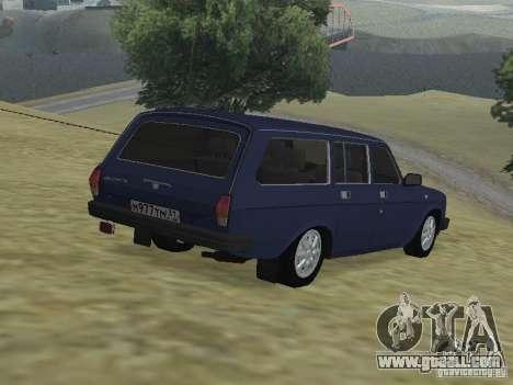Gaz Volga 310221 for GTA San Andreas left view