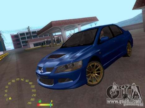 Mitsubishi Lancer EVO BETA for GTA San Andreas
