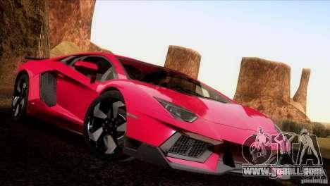 Lamborghini Aventador LP-700 J for GTA San Andreas right view