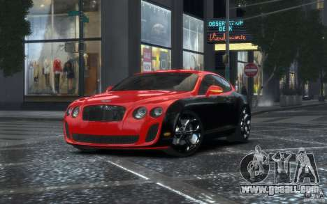 Bentley Continental SS MansorY for GTA 4
