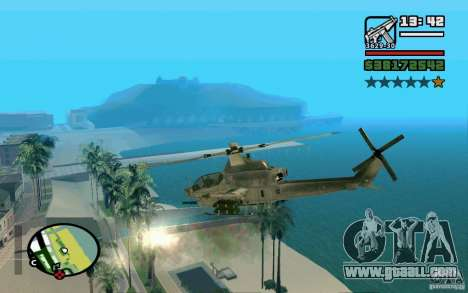 Bell AH-1Z Viper for GTA San Andreas left view