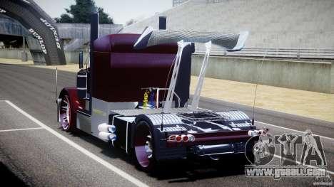 Peterbilt Sport Truck Custom for GTA 4 side view