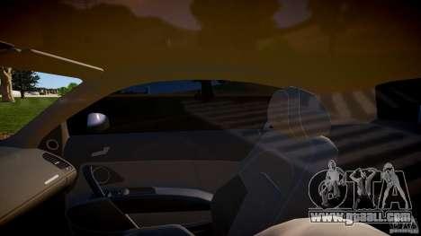 Audi R8 2008 for GTA 4 inner view
