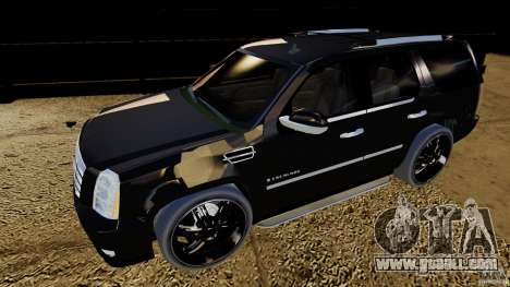 Cadillac Escalade 2007 v3.0 for GTA 4 left view