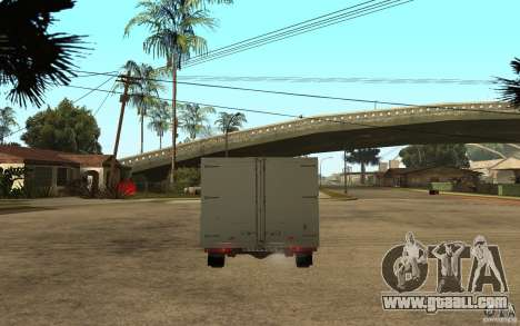 CEP 2345 for GTA San Andreas back left view